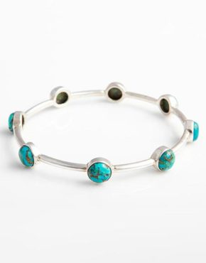 sterling-silver-bangle-with-blue-mojave-turquoise-gemstones-bb7g