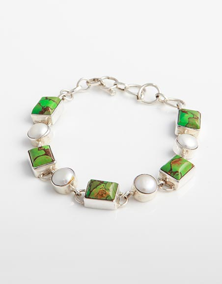 sterling-silver-bracelet-with-green-mojave-turquoise-white-freshwater-pearls-bb8i