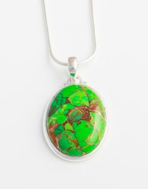 oval-green-mojave-turquoise-pendant-in-sterling-silver-bp22b
