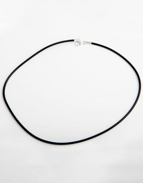 neoprene-choker-18-with-adjustable-sterling-clasp-fch1